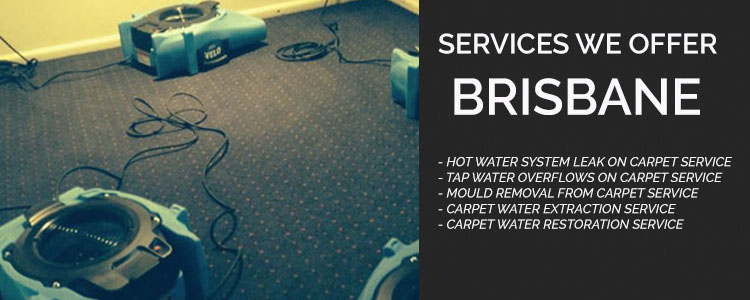 Carpet Water Damage Flood Restoration Indooroopilly