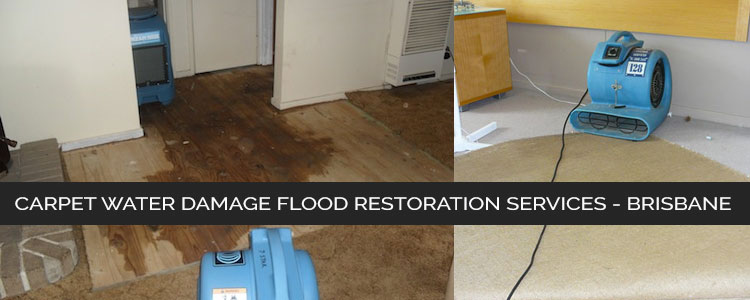 Carpet Water Damage Flood Restoration Russell Island