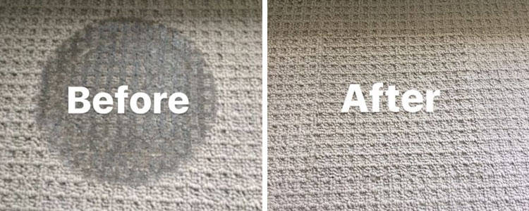 Carpet Cleaning White Patch