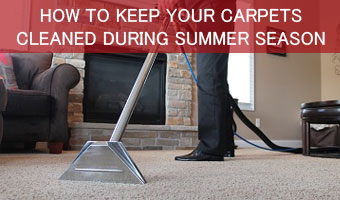 Carpet Cleaning During Summer Season