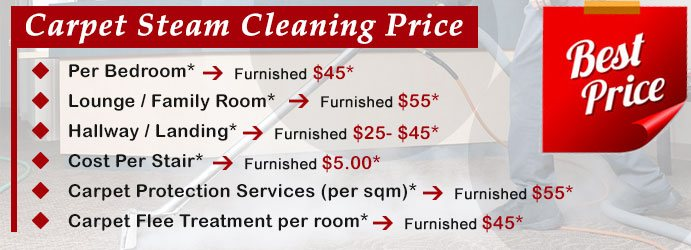 Carpet Steam Cleaning Price Fitzgibbon