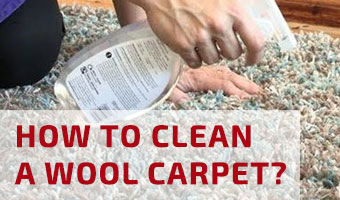How to Clean Wool Carpet?
