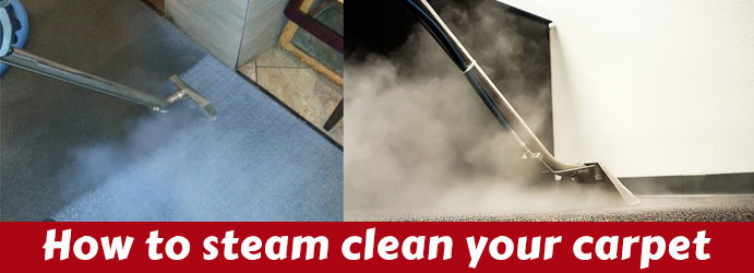 How to steam clean your carpet Melbourne