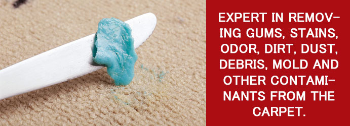 Removing Gum From Your Carpet