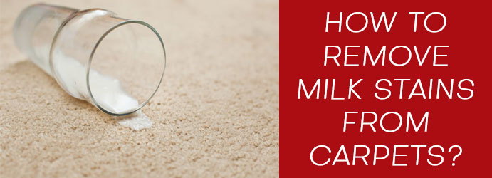 Remove Milk Stains From Carpets