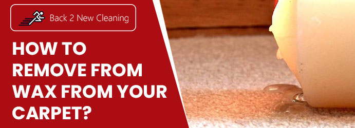 Remove Wax Stain from Carpet