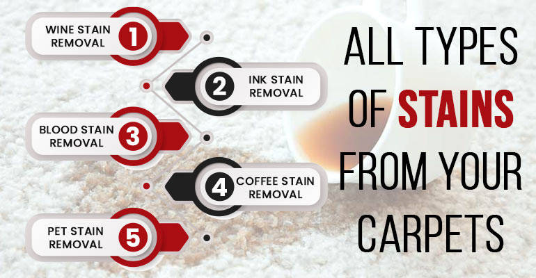 Carpet Stain Removals White Patch