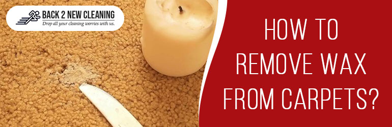 Remove Wax From Carpets