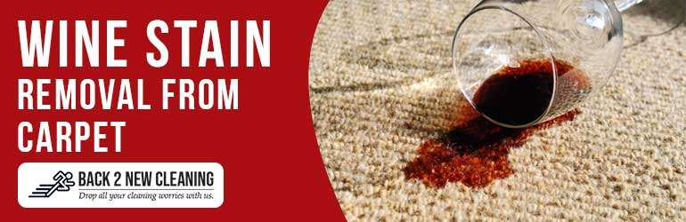 Wine Stain Removal From Carpet