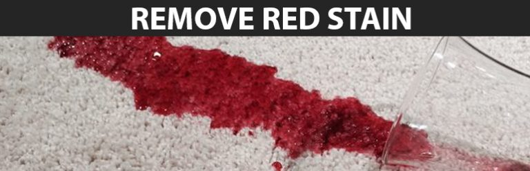 Remove Red Stain From Carpet
