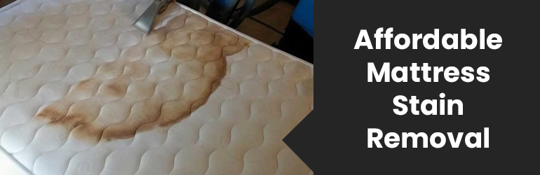 Affordable Mattress Stain Removal