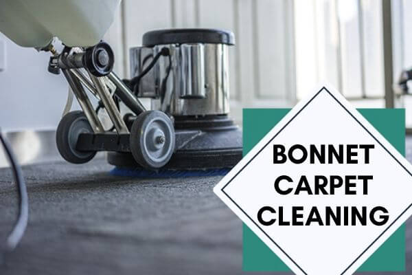 Bonnet carpet cleaning