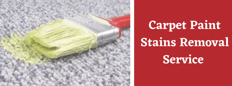 Carpet Paint Stains Removal Service