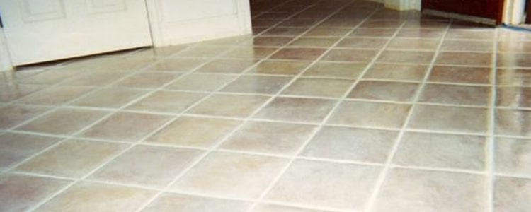 Wash Dark Stains from White Tiles