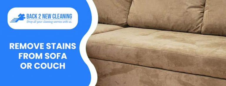 Remove Stains from Sofa or Couch