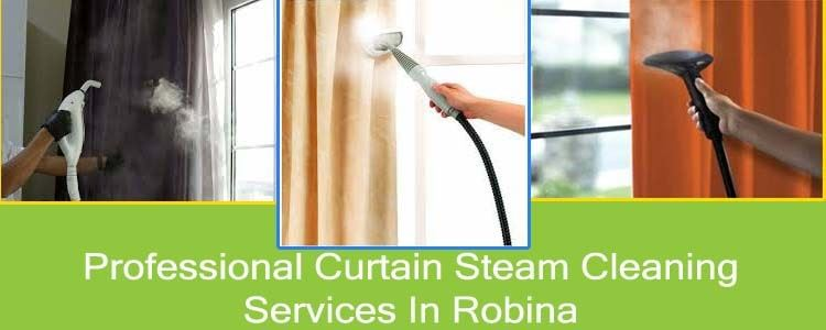 Professional Curtain Steam Cleaning Service In Robina
