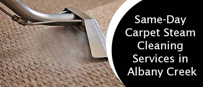 Same-Day Carpet Steam Cleaning Services in Albany Creek